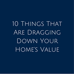 10 Things Dragging Down Value